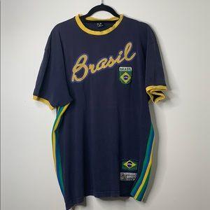 Distressed Brasil Soccer T-shirt